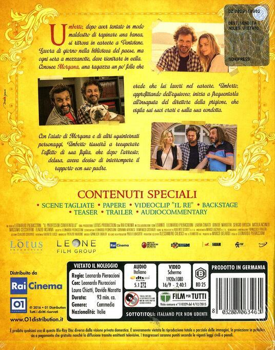 Il professor Cenerentolo di Leonardo Pieraccioni - Blu-ray - 10