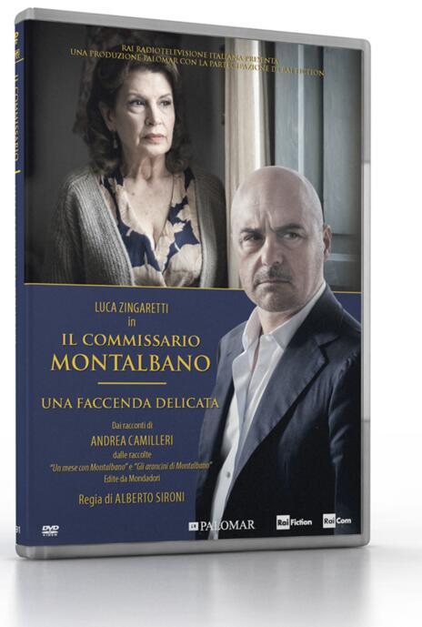 Il commissario Montalbano. Una faccenda delicata di Alberto Sironi - DVD