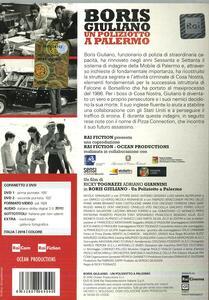 Boris Giuliano. Un poliziotto a Palermo (2 DVD) di Ricky Tognazzi - DVD - 2