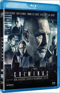 Criminal di Ariel Vromen - Blu-ray