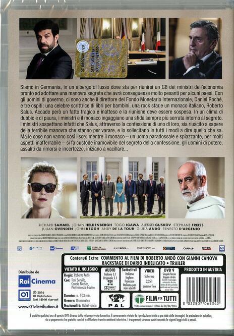 Le confessioni di Roberto Andò - DVD - 8