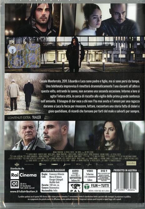 Un posto sicuro di Francesco Ghiaccio - DVD - 2