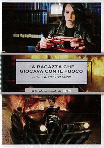 Cover Dvd DVD La ragazza che giocava con il fuoco