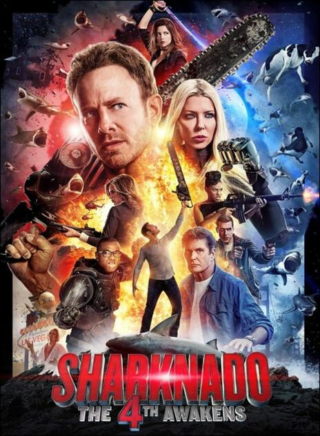 Sharknado 4 di Anthony C. Ferrante - DVD