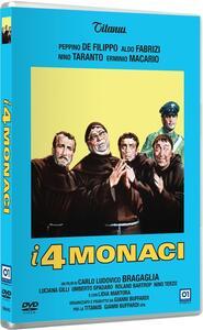I quattro monaci di Carlo Ludovico Bragaglia - DVD