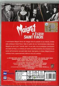 Maigret e il caso Saint Fiacre (DVD) di Jean Delannoy - DVD - 2
