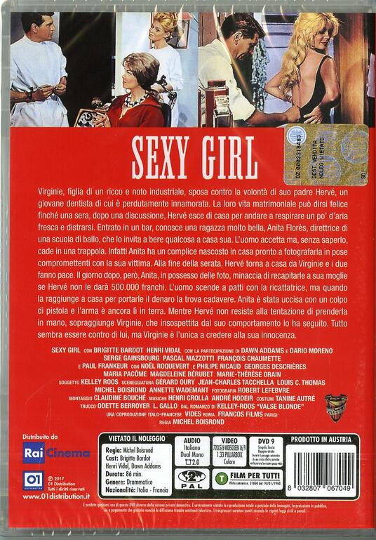 Sexy Girl (DVD) di Michel Boisrond - DVD - 2