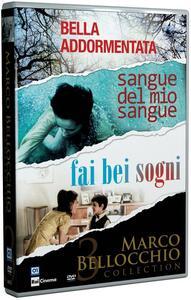 Cofanetto Bellocchio. Fai bei sogni - Sangue del mio sangue - Bella addormentata (3 DVD) di Marco Bellocchio