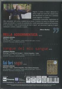 Cofanetto Bellocchio. Fai bei sogni - Sangue del mio sangue - Bella addormentata (3 DVD) di Marco Bellocchio - 2