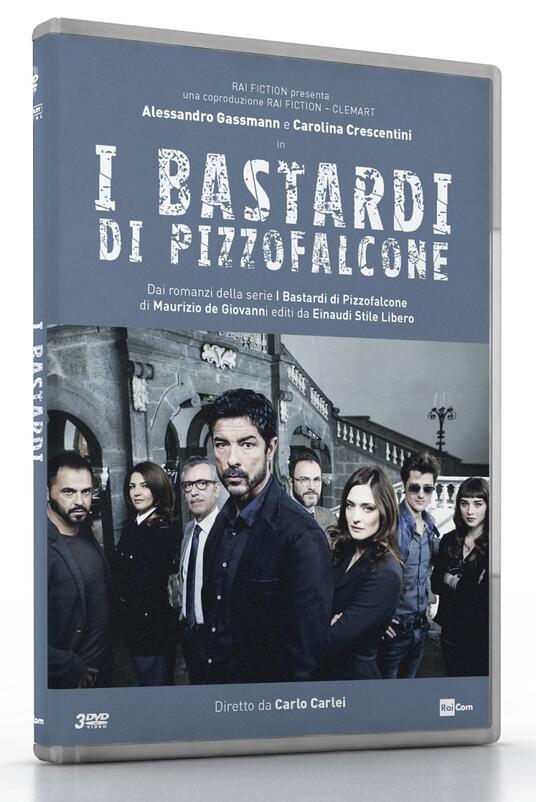 I bastardi di Pizzofalcone. Serie TV ita (3 DVD) di Carlo Carlei - DVD