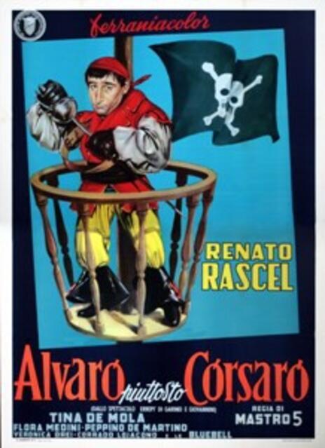 Alvaro piuttosto corsaro (DVD) di Camillo Mastrocinque - DVD