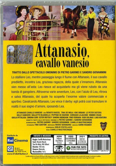 Attanasio cavallo vanesio (DVD) di Camillo Mastrocinque - DVD - 2
