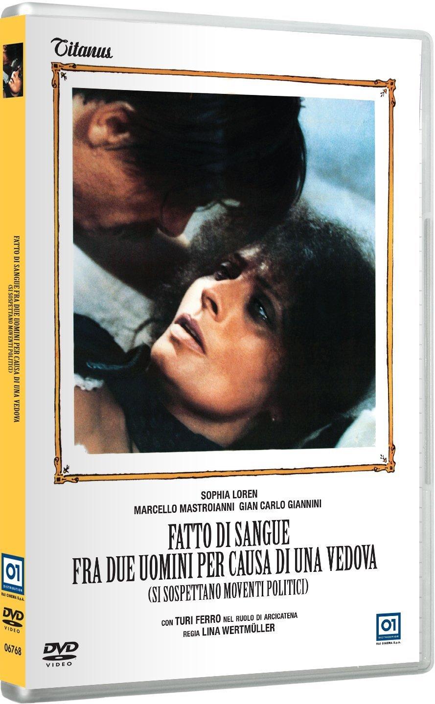 Cover Dvd DVD Fatto di sangue tra due uomini per causa di una vedova (si sospettano moventi politici)