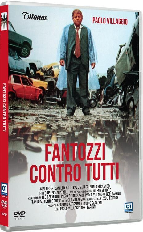 Fantozzi contro tutti (DVD) di Paolo Villaggio,Neri Parenti - DVD