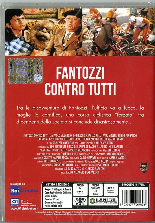 Fantozzi contro tutti (DVD) di Paolo Villaggio,Neri Parenti - DVD - 2