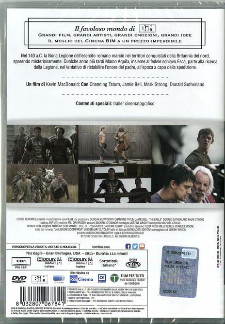 The Eagle (DVD) di Kevin Macdonald - DVD - 2