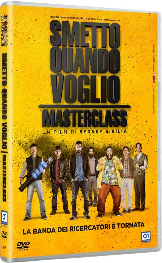 Smetto quando voglio. Masterclass (DVD) di Sydney Sibilia - DVD