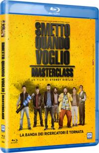 Cover Dvd Smetto quando voglio. Masterclass (Blu-ray) (Blu-ray)