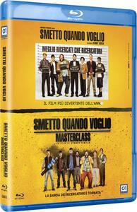 Cofanetto Smetto quando voglio + Smetto quando voglio. Masterclass (Blu-ray) di Sydney Sibilia
