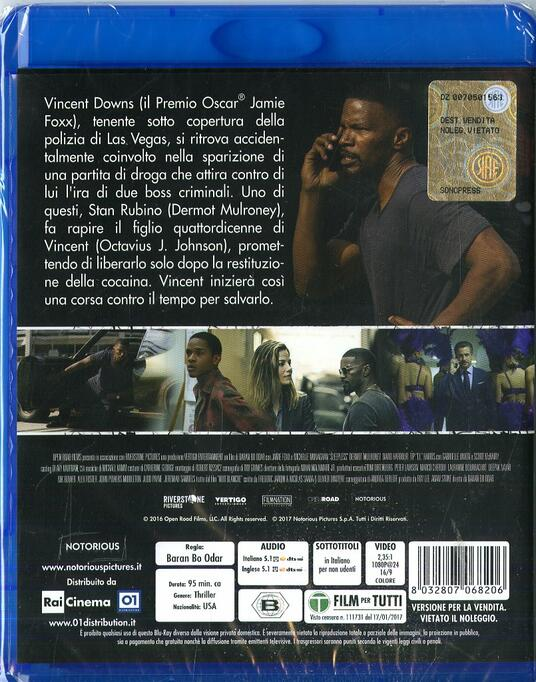 Sleepless. Il giustiziere (Blu-ray) di Baran bo Odar - Blu-ray - 2