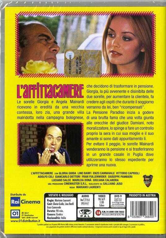 L' affittacamere (DVD) di Mariano Laurenti - DVD - 2