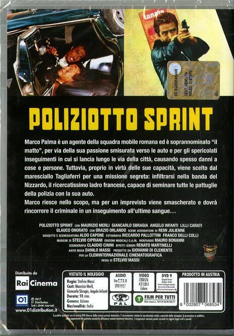 Poliziotto sprint (DVD) di Stelvio Massi - DVD - 2