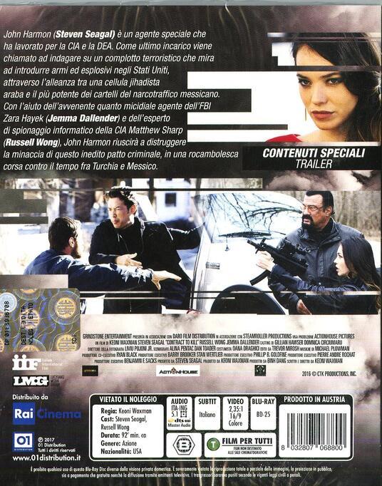 Contract to Kill (Blu-ray) di Keoni Waxman - Blu-ray - 2