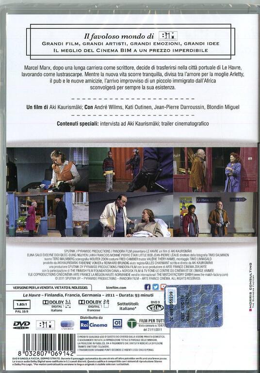 Miracolo a Le Havre (DVD) di Aki Kaurismaki - DVD - 2