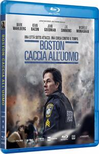 Boston. Caccia all'uomo (Blu-ray) di Peter Berg - Blu-ray