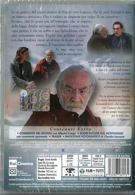 La tenerezza (DVD) di Gianni Amelio - DVD  - 2