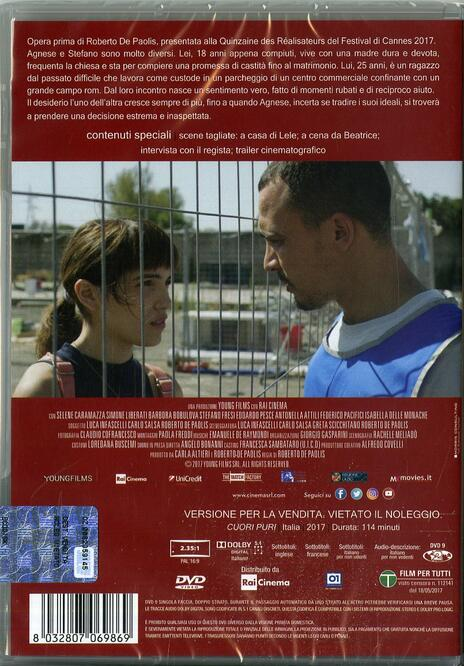 Cuori puri (DVD) di Roberto De Paolis - DVD - 2