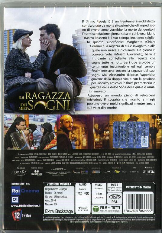 La ragazza dei miei sogni (DVD) di Saverio Di Biagio - DVD - 2