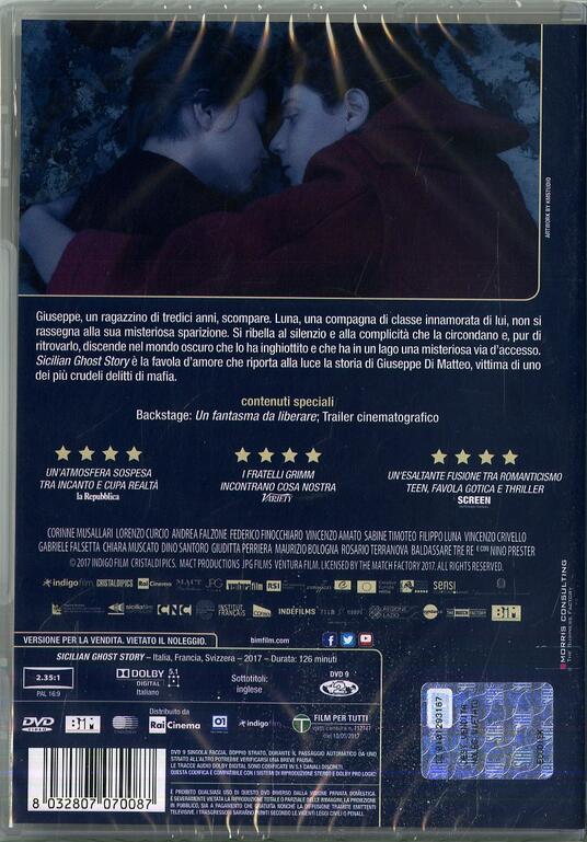 Sicilian Ghost Story (DVD) di Fabio Grassadonia,Antonio Piazza - DVD - 2