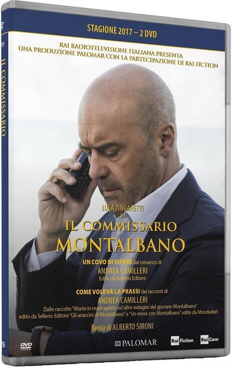 Il commissario Montalbano. Stagione 2017. Serie TV ita (2 DVD) di Alberto Sironi - DVD