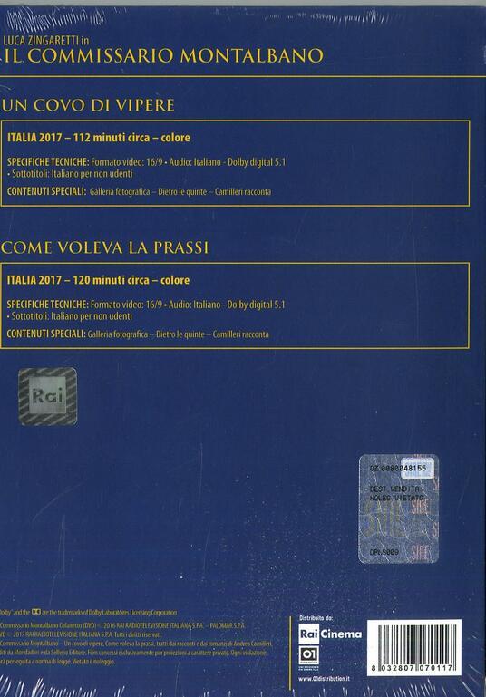 Il commissario Montalbano. Stagione 2017. Serie TV ita (2 DVD) di Alberto Sironi - DVD - 2