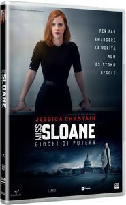 Miss Sloane. Giochi di potere (DVD) di John Madden - DVD