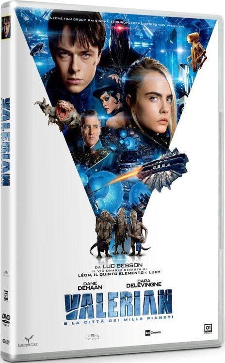 Valerian e la città dei mille pianeti (DVD) di Luc Besson - DVD