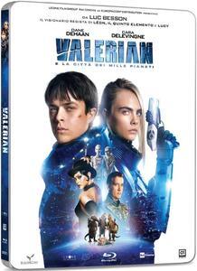 Valerian e la città dei mille pianeti. Con Steelbook (Blu-ray) di Luc Besson - Blu-ray