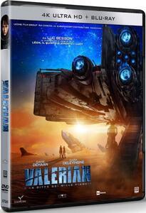 Valerian e la città dei mille pianeti (Blu-ray + Blu-ray Ultra HD 4K) di Luc Besson