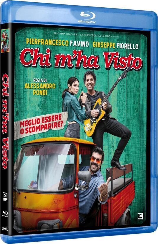 Chi m'ha visto (Blu-ray) di Alessandro Pondi - Blu-ray