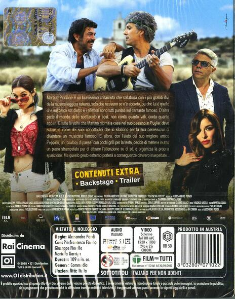 Chi m'ha visto (Blu-ray) di Alessandro Pondi - Blu-ray - 2