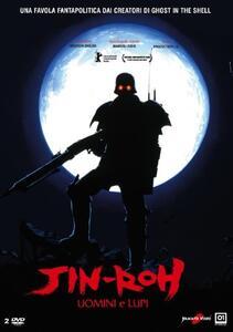 Jin-Roh. Uomini e lupi (Blu-ray) di Hiroyuki Okiura - Blu-ray