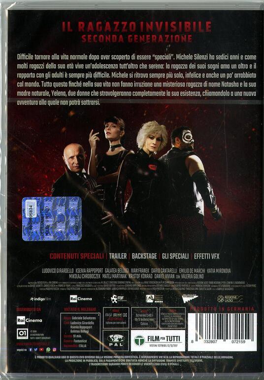 Il ragazzo invisibile. Seconda generazione (DVD) di Gabriele Salvatores - DVD - 5