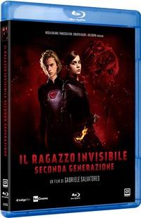 Cover Dvd Il ragazzo invisibile. Seconda generazione (Blu-ray)