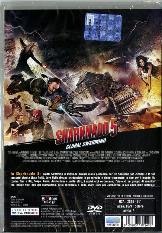 Sharknado 5 (DVD) di Anthony C. Ferrante - DVD - 2
