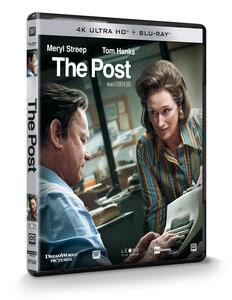 The Post (Blu-ray + Blu-ray 4K Ultra HD) di Steven Spielberg - Blu-ray + Blu-ray Ultra HD 4K