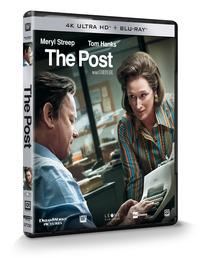 Cover Dvd The Post (Blu-ray + Blu-ray 4K Ultra HD)