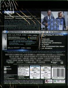The Post (Blu-ray + Blu-ray 4K Ultra HD) di Steven Spielberg - Blu-ray + Blu-ray Ultra HD 4K - 2