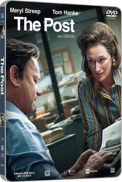 The Post. Con Steelbook (DVD) di Steven Spielberg - DVD