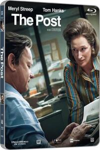 The Post. Con Steelbook (Blu-ray) di Steven Spielberg - Blu-ray